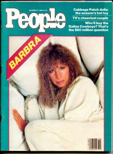 People Weekly 12/12/1983-Barbra Streisand-Cabbage Patch dolls-VG/FN