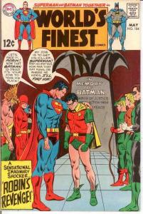 WORLDS FINEST 184 F+    May 1969