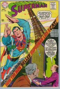 Superman 208 Jul 1968 VG (4.0)