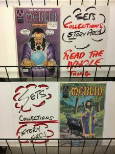 MERLIN IDYLLS OF THE KING (1992 ADVENTURE) 1-2 complete