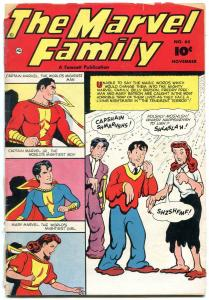Marvel Family #65 1951-reading copy- Captain Marvel- Fawcett Golden Age FR