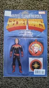 Captain Marvel and the Carol Corps # 1 variant (2015)