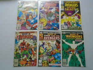 What If? lot 12 different Avengers issues avg 8.0 VF