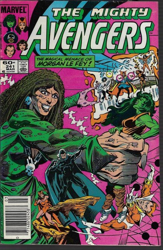 Avengers #241 (Marvel, 1984) VF