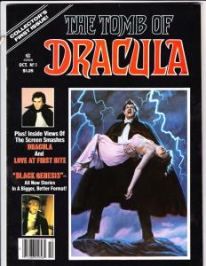 Tomb of Dracula Magazine #1 (Oct-79) NM- High-Grade Dracula