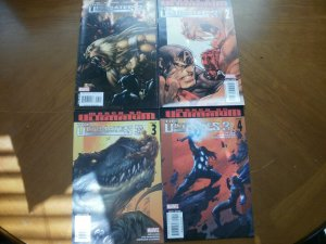 4 Marvel Comic:THE ULTIMATES 3 #1 #2 #3 #4 (2008) Captain Iron Man Thor Wasp