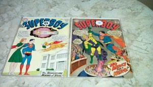 Superboy #101 G 2.0 (1962) & # 141 G 2.0 (1967) by:
