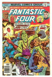 Fantastic Four 176   Re-Into Impossible Man