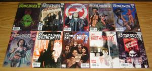 Brotherhood #1-9 VF/NM complete series + variant BILL SIENKIEWICZ marvel comics