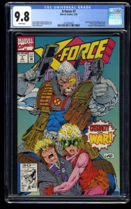 X-Force #7 CGC NM/M 9.8 White Pages