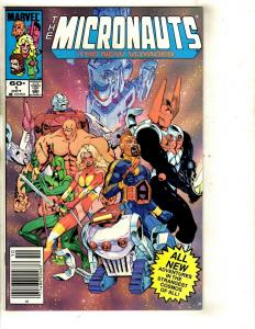 11 The Micronauts The New Voyages Marvel Comics #1 2 3 4 5 6 7 8 9 10 11 WS5