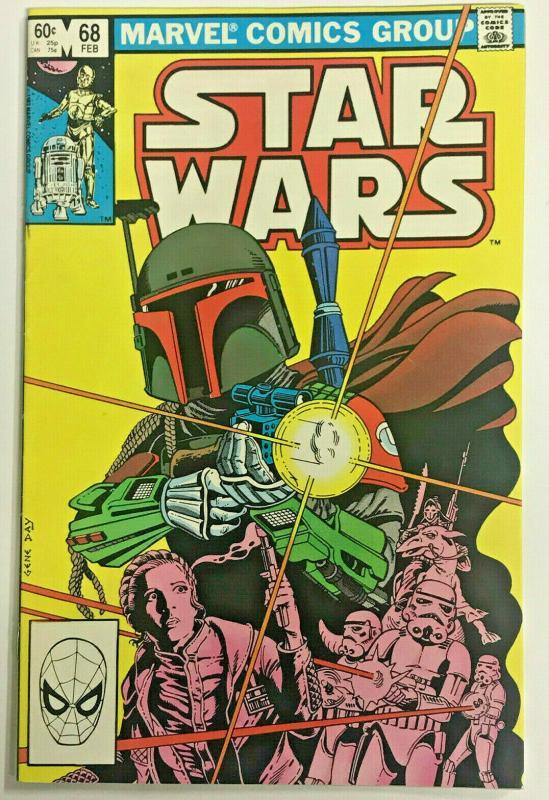 STAR WARS#68 VF/NM 1983 BOBA FETT MARVEL BRONZE AGE COMICS