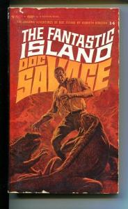 DOC SAVAGE-THE FANTASTIC ISLAND-#14-ROBESON-G-COVER JAMES BAMA- G