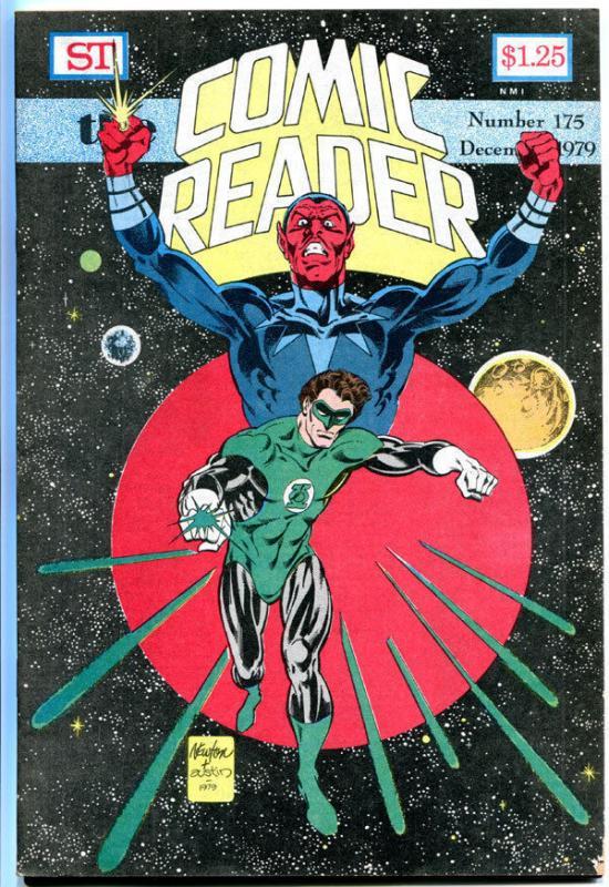 COMIC READER #175, VF, Green Lantern, Sinestro, Fanzine, 1979, more in store
