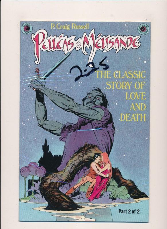 Eclipse Comics PELLEAS & MELISANE  Part 1 and 2 F/VF (PF84)