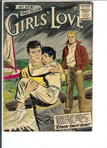 Girls' Love, #43 - Silver Age - Sept.-Oct. 1956 (VG)