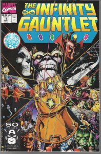 Infinity Gauntlet #1 (Marvel, 1991) NM