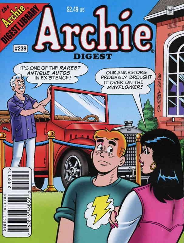 Archie Digest Magazine #239 VF/NM Archie - save on shipping - details inside