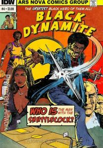 Black Dynamite #4 VF/NM; IDW | save on shipping - details inside