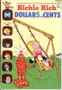 RICHIE RICH DOLLARS & CENTS (1963-1982) 40 VF-NM COMICS BOOK