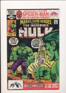 Marvel Super Heros ft The Incredible HULK Dec #104 FINE (SIC302)