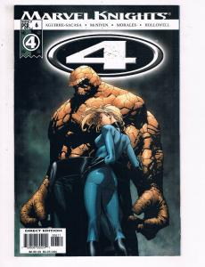 Marvel Knights 4 #6 VF Marvel Comics Comic Book Morales Fantastic Four DE22