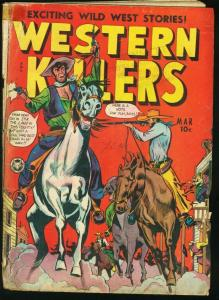 WESTERN KILLERS #63-1949-FOX FEATURES-VIOLENCE G
