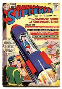 SUPERMAN #146-1961-CLARK KENT-KRYPTO-SILVER AGE-CLASSIC COVER vg