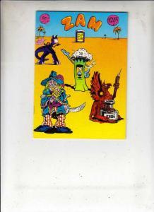 Zam #1 (Jan-74) VF High-Grade Wonder Wart Hog, Checkered Demon