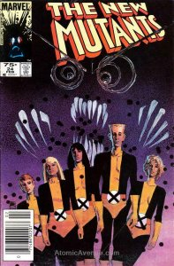 New Mutants, The (Canadian Edition) #24 FN; Marvel | save on shipping - details