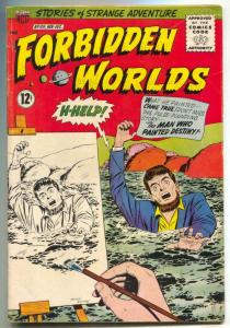 Forbidden Worlds #108 1963-Herbie- Painting cover VG+