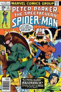 Spectacular Spider-Man (1976 series) #13, VF+ (Stock photo)