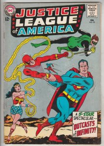 Justice League of America #25 (Feb-64) VF/NM High-Grade Justice League of Ame...