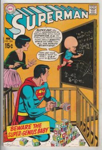 Superman #224 (Feb-70) VF/NM High-Grade Superman, Jimmy Olsen,Lois Lane, Lana...