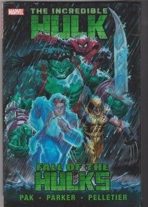 THE INCREDIBLE HULK - FALL OF THE HULKS  trade hardcover sealed
