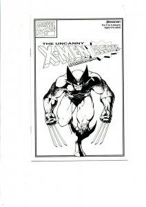 Uncanny X-Men Alert! Adventure Game Instruction Manual - Wolverine - 1992