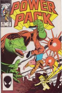 Power Pack (1984 series) #17, VF+ (Stock photo)