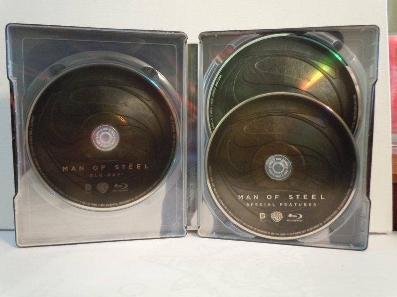 Man of Steel (Blu-ray) STEELBOOK