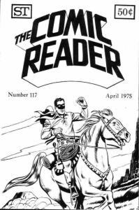 Comic Reader, The #117 VF; Street Enterprises   save on shipping - details insid
