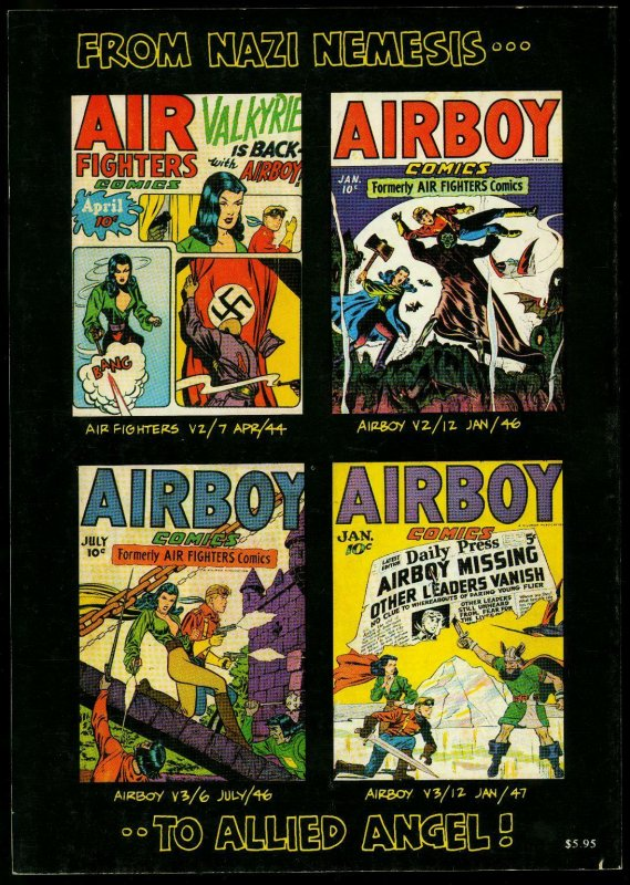 Valkyrie #1 1982- Air Fighters $ Airboy Golden Age reprints Fred Kida