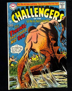 Challengers of the Unknown #60 (1968)