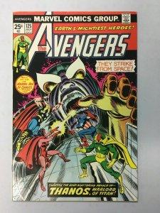 Avengers (1st Series) #125, 6.0 W/ Thanos + Captain Marvel MVS Marvel Girl- 1974
