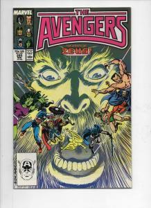 AVENGERS #285, NM-, Captain America, Thor, Zeus, 1963 1987, more Marvel in store