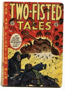 Two-Fisted Tales #28 1952- Kurtzman cover- EC golden age war G