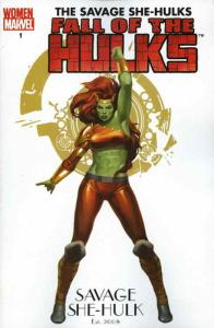 Fall of the Hulks: The Savage She-Hulks #1A FN; Marvel   save on shipping - deta