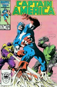 Captain America (1st Series) #324 VF/NM; Marvel | save on shipping - details ins