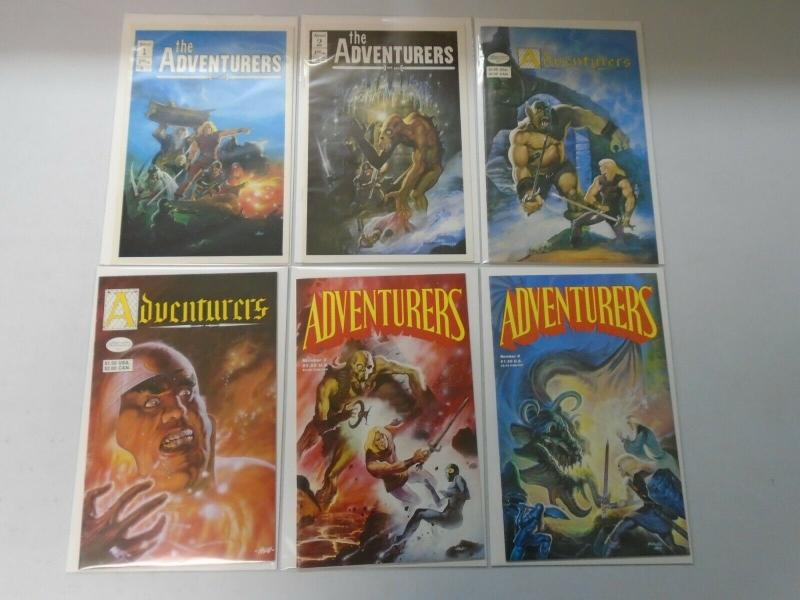 The Adventurers Lot 12 different issues (1986-88) 8.0 VF