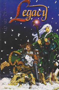 Legacy (Dreamflux) Ashcan #1 VF; Dreamflux | save on shipping - details inside