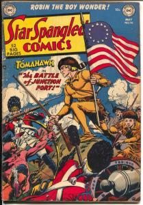 Star Spangled #116 1951-DC-Tomahawk-Robin-Capt Compass-Atomic explosion-VG
