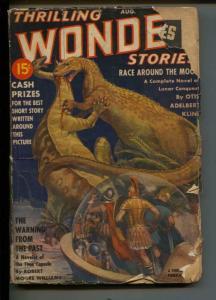 Ashounding Science Fiction-Pulp-8/1939-Ray Cummings-Adelbert Kline